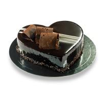 Ατομική καρδιά σοκολάτα
